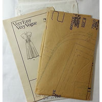 Misses Long Dress Vogue 7810 Vintage Pattern 1990 Size 8 10 12 Sewing c736