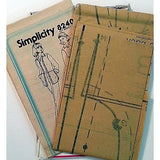 Misses Shirt Jacket Pants Pattern Simplicity 8240 Vintage 1977 Size 12 c1026