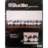 Gaggle of Geese Draftstop Wall Hanging Plastic Canvas Kit Bucilla 5998 c1243