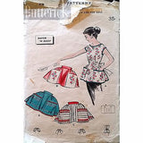 Misses Aprons Carry All Pockets Butterick 8336 Pattern Vintage 1957 Retro c1368