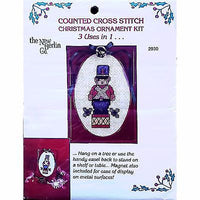 Christmas Ornament Counted Cross Stitch Kit Holiday New Berlin Co 2930 c1464