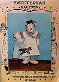 Morning Hugs from Mama Bear Family Doll Pattern 15 inch Baby Sweet Ragtown c230