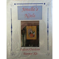 Cornucopia Fall Indoor Outdoor Banner Kit Vintage 29x39 inch Jonelles Noels C335