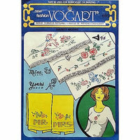 Lot of Vogart Repeat Transfers Vintage 1960's Embroidery Ball Point Painting vo2