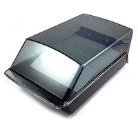 Rolodex Business Card Organizer 2.75 x 4 Black Vintage Sleeves Office o195