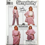 Misses Top Pants Skirt Jacket Simplicity 8904 Sewing Pattern Size 16 c2013