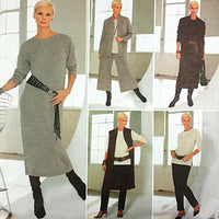 Misses Jacket Top Dress Pants Sewing With Nancy 4159 Pattern Size 8-22 c2065