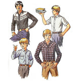 Boys Shirt McCalls 7771 Sewing Pattern Vintage 1981 Sz 10 c2111