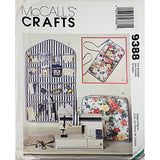 Sewing Serger Accessories McCalls 9388 Sewing Pattern Cover Apron Organize c2061