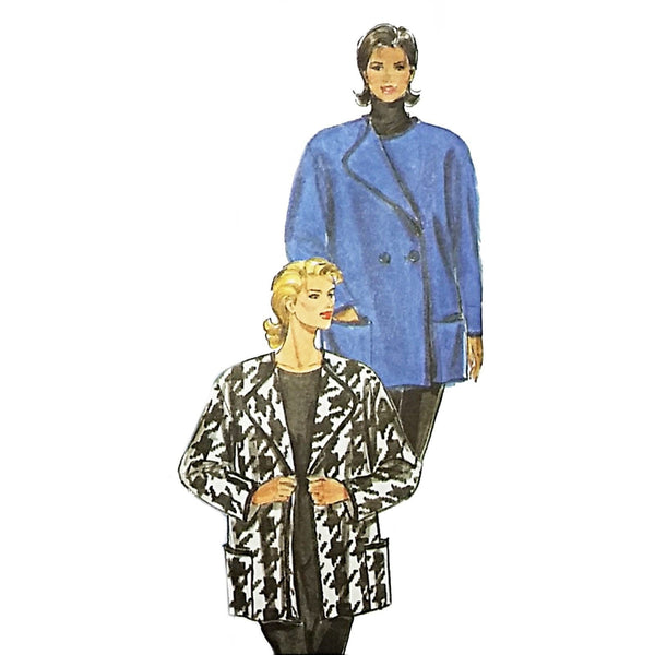 Misses Loose Fitting Jacket Burda 3600 Sewing Pattern Size 10-20 c2117