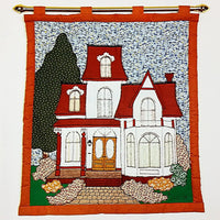 Montreal Victorian Wallhanging Vintage 1981 Pattern Patches of Joy WB-2 c1965
