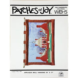 Williamsburg Colonial Wallhanging Vintage 1981 Pattern Patches of Joy WB-5 c1967