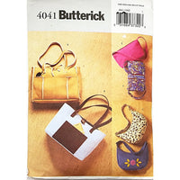 Misses Handbags Butterick 4041 Sewing Pattern 2003 c2081