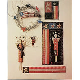 Flags Folk Art Quilt Pattern Vintage 1992 Pieces From My Heart Patriotic c1992