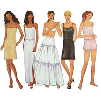 Misses Camisole Slip Shorts Butterick 6777 Sewing Pattern Size 12 14 16 c2047