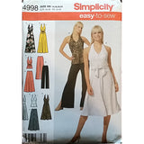 Misses Skirt Pants Dress Top Simplicity 4998 Sewing Pattern Sz 14 16 18 20 c1614
