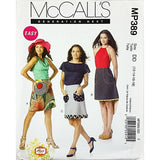 Misses Skirts McCalls MP389 Sewing Pattern 2011 Size 12-18 c1887