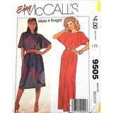 Misses Dress McCalls 9505 Sewing Pattern Vintage Size Medium c1897