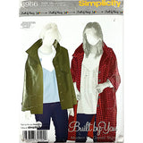 Misses Coat Jacket Simplicity 3966 Sewing Pattern 2006 Size 4-12 c2179