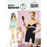 Misses Camisole Slip Panties Butterick B6031 Sewing Pattern Size 6-14 c2194