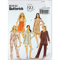 Misses Camisole Dress Top Shorts Butterick B5932 Sewing Pattern Size XS-M c2197