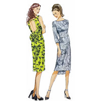 Misses Dress Butterick B5919 Sewing Pattern 2013 Size 6-14 c2199