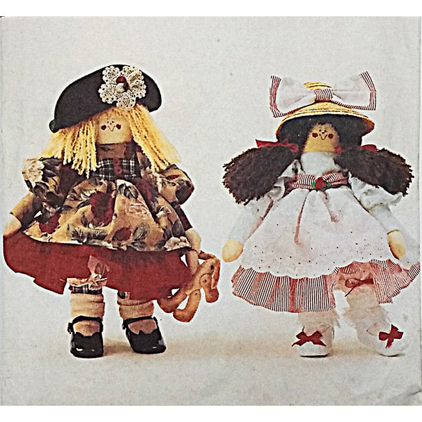 Annie Apple Cheeks Butterick 3108 Sewing Pattern Vintage 1993 Doll c2288