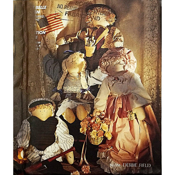 Annie Bell Doll Clothes McCalls Crafts 5126 Sewing Pattern 1990 c2298