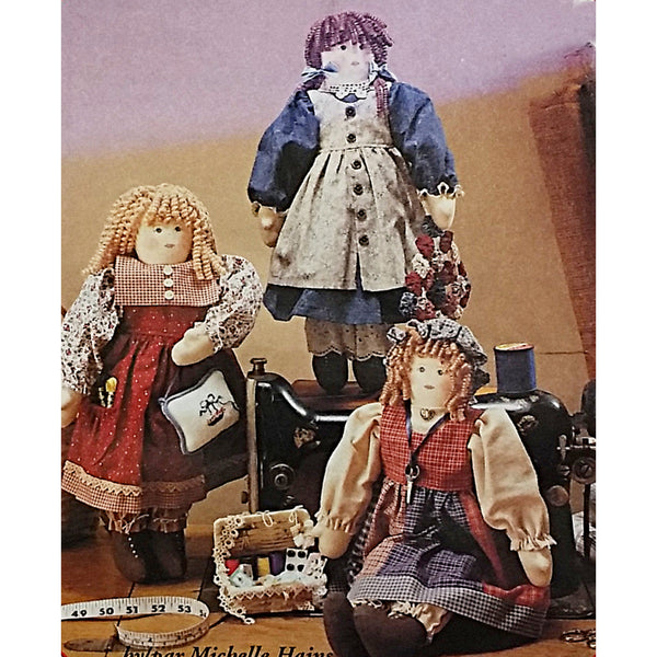 Sewing Sisters Doll Clothes McCalls Crafts 7980 Sewing Pattern 1995 c2302