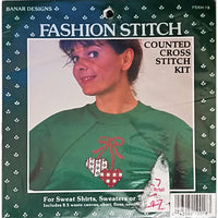 Hearts Counted Cross Stitch Kit Banar Designs FSKH-18 Vintage Embellishment c269