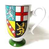 Heraldic Pedestal Mug Vintage Smug Mugs Royal Crown Arnart T. Jones 3690 k211