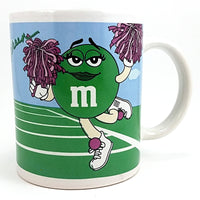 M&M Sports Coffee Mug 10oz Cup Golf Football Cheer Green Blue Galerie k613
