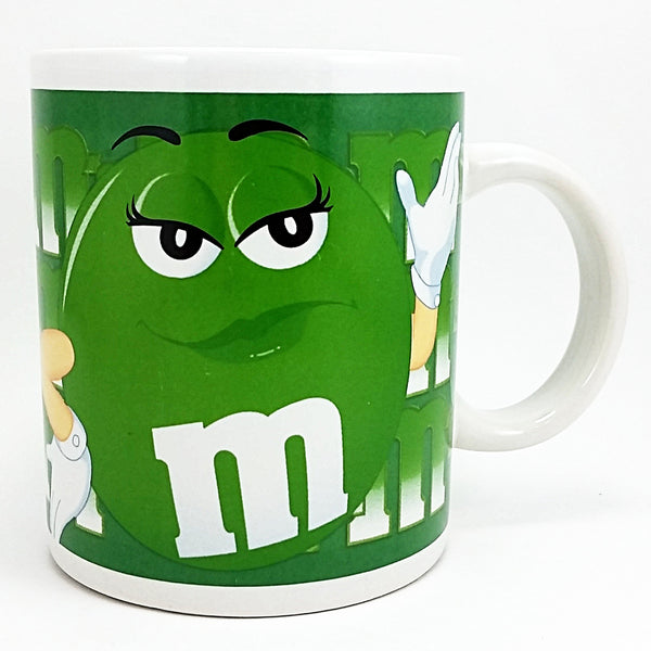 M&M Green Coffee Mug 10oz Cup Mars Advertising Galerie k615