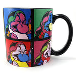 Grumpy Multicolor Pop Art Dwarf Coffee Mug 16oz Disney Store k683