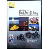 Nikon School Fast Fun Easy Great Digital Pictures II DVD 2007 Photography m168