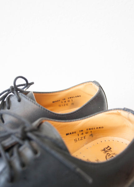 Black Doc Marten's Lace-Up Casual Shoes | Size 7