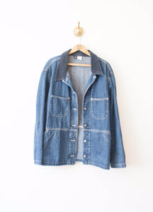 Denim Riveted Lee Jacket