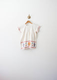 White Guatemalan Embroidered Blouse