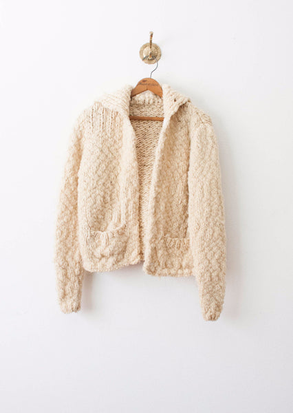 Eggnog Chunky Knit Sweater