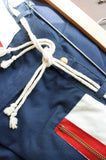 Nautical Navy Cotton Trousers
