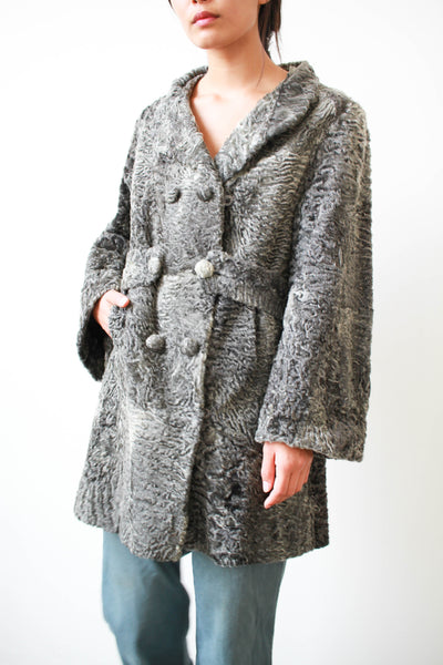 1950s Persian Lamb Curly Coat