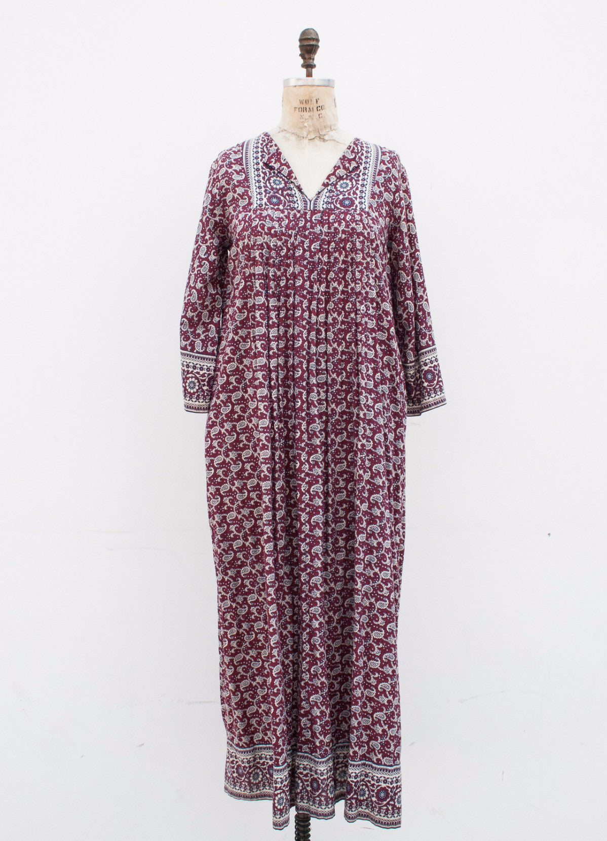 Ramona Rull Indian Cotton Maxi Dress