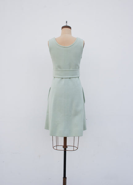 Mint Virgin Wool Dress