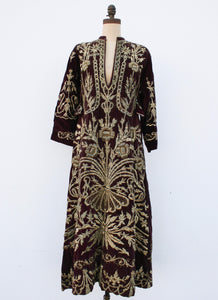 18th Century Metal Embroidered French Clergy Robe