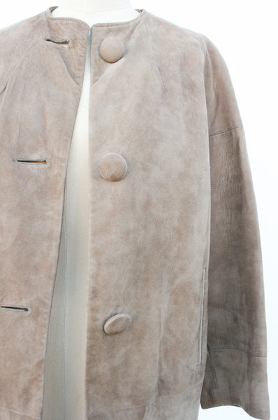 1960s Tan Suede Jacket