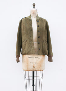 1950s European Army Wool Bomber Jacket