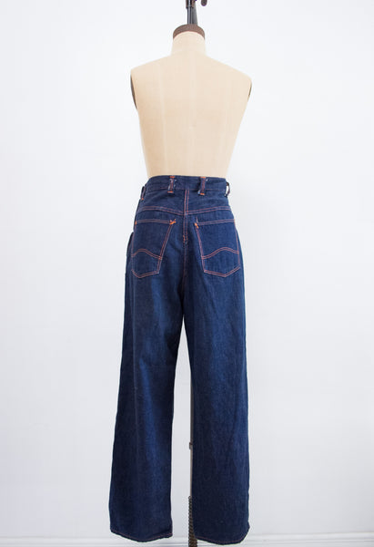 1940s Montgomery 101 Denim Pants | 26""