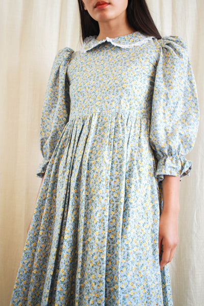 1990s Liberty Print Babydoll Dress