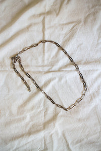 1980s Silver Chrome Chain-link Belt