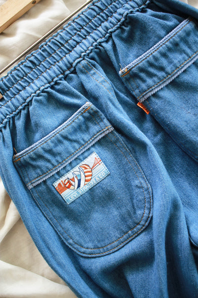 1970s Chambray Blue High Waist Levi's
